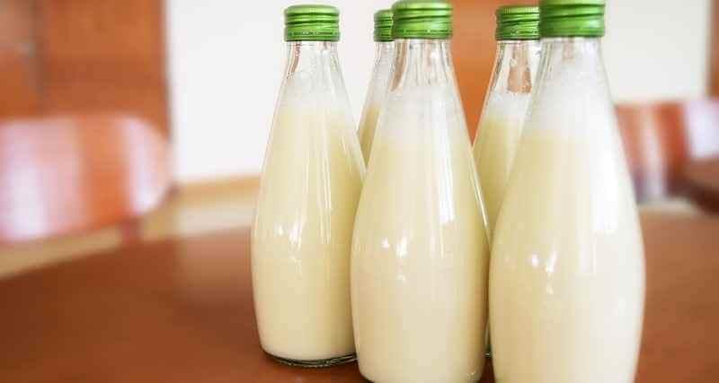 El consumo de leche