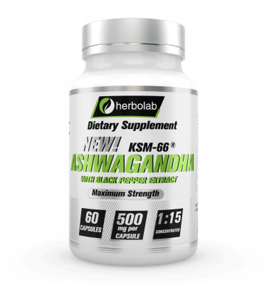 herbolab Ashwagandha KSM-66 1:15 Concentrado