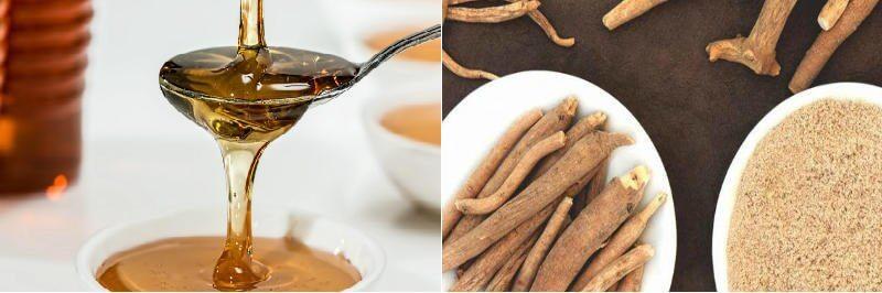 Ashwagandha y miel