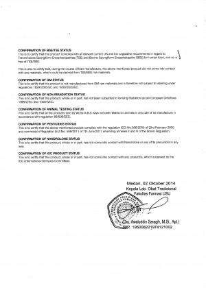 Herbolab COA 2