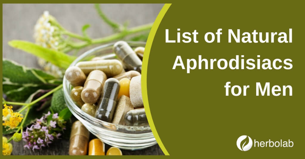 List of Natural Aphrodisiacs for Men