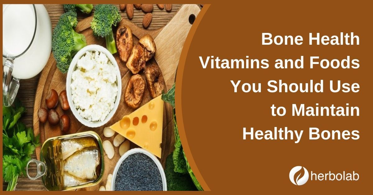Bone Health Vitamins and Foods You Should Use to Maintain Healthy Bones